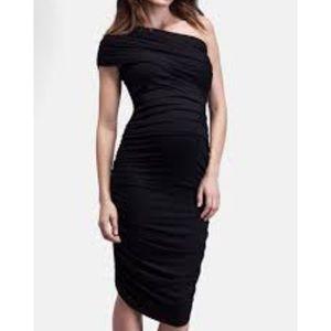 Isabella Oliver Maternity Black Cocktail Dress
